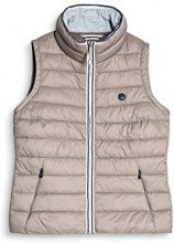 edc by Esprit 077cc1h002, Gilet Outdoor Donna, Marrone (Taupe 240), X-Small