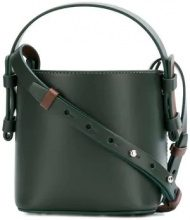 - Nico Giani - small bucket bag - women - Leather - Taglia Unica - Verde