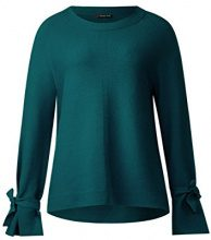 Street One 300571, Maglione Donna, Verde (Teal Green 11270), 44