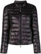- Patrizia Pepe - padded jacket - women - fibra sintetica/piuma d'oca - 38 - di colore nero