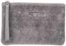 - Lancaster - Clutch con zip - women - velluto - Taglia Unica - di colore grigio