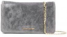 - Lancaster - large clutch bag - women - velluto - Taglia Unica - di colore grigio