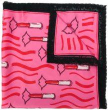 - Valentino - Foulard 'Lipstick' - women - Polyamide/Cotone/Silk - Taglia Unica - rosa