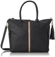 PIECES Pcjaci Bag - Borsette da polso Donna, Schwarz (Black), 13x26x34 cm (B x H T)