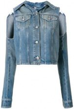 - Mm6 Maison Margiela - Giacca denim - women - Cotone - 42 - Blu