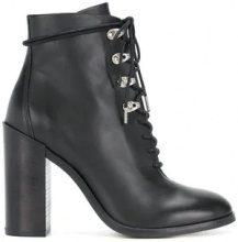 - Diesel - Stivaletti stile hiking - women - Calf Leather/Rubber/Leather - 41, 39, 40 - Nero