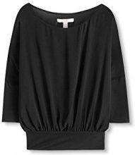 ESPRIT 116EE1F019, Camicia Donna, Nero (Black), 34