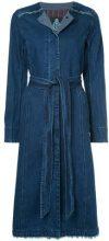 - Guild Prime - Cappotto in denim - women - cotone - 34 - di colore blu