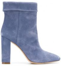 - Twin - Set - heeled ankle boot - women - pelle scamosciata/pelle - 36, 40, 37.5, 41, 38, 35, 38.5 - di colore blu