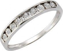 Celesta FINERING - Anello, con Ametista Diamante, argento, misura 58 (18.5)