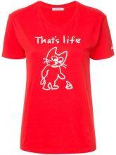 - Guild Prime - T - shirt GUILD PRIME x SANDER STUDIO - women - cotone - 34 - di colore rosso