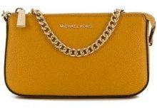 - Michael Michael Kors - Borsa Clutch 'Jet Set Chain' - women - pelle - Taglia Unica - di colore arancione