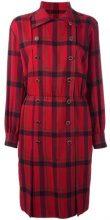 - Yves Saint Laurent Vintage - Vestito a scacchi - women - Wool - 38 - Rosso