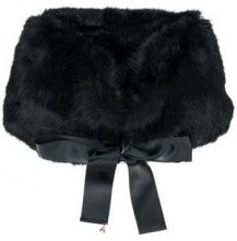 - Patrizia Pepe - tie fastening scarf - women - fibra sintetica - Taglia Unica - di colore nero
