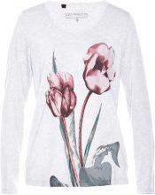Maglia a manica lunga con fiori
