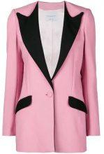 - Hebe Studio - Blazer con dettagli a contrasto - women - fibra sintetica/acetato - 36 - di colore rosa