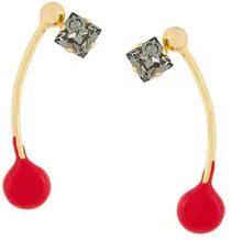 - Marni - embellished earrings - women - metallo - Taglia Unica - effetto metallizzato