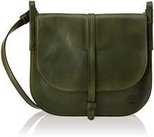 Timberland Tb0m5864, Borsa a Tracolla Donna, Verde (Forest Night), 7x19x18 cm (W x H x L)