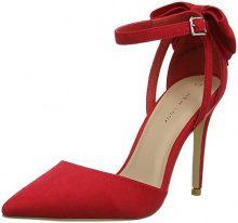 New Look Softy, Scarpe col Tacco Punta Chiusa Donna, (Bright Red 60), 36.5 EU