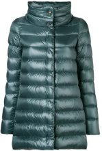 - Herno - Amelia padded jacket - women - cotone/acetato/fibra sintetica/piuma d'oca - 44, 46, 40, 42 - di colore verde