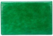 - Dvf Diane Von Furstenberg - large flap pouch - women - pelle di vitello - Taglia Unica - di colore verde