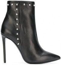 - Marc Ellis - studded stiletto boots - women - pelle - 38.5, 39, 38 - di colore nero
