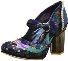 Irregular Choice Mer Magic, Mary Jane Donna, Blu (Navy B), 38 EU