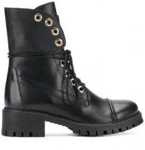 - Twin - Set - biker boots - women - Leather/Rubber - 38, 41, 37 - di colore nero
