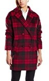 Blend - Check Coat, Cappotto Donna