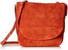 Clarks Tallow Rosa - Borse a spalla Donna, Arancione (Burnt Orange), 8x23x20 cm (B x H T)