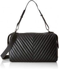 PIECES Pcflorence Large Bag - Borse a spalla Donna, Nero (Black), 16x24x40 cm (B x H T)