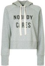 - Nobody Denim - Nobody Cares Hoody Cinder - women - Cotone - L, M, XS - Grigio