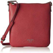Joop! 4140003903, Borsa a spalla Donna, Rosso (Rosso (red 300)), 3x26x24 cm (B x H x T)