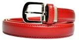 Charmoni-Cintura in pelle, in pelle di vacchetta, spessore 3 cm da uomo, donna, taglia unica, regolabile, nuovo