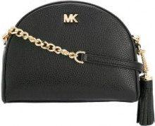 - Michael Michael Kors - Borsa a tracolla con logo - women - pelle - Taglia Unica - di colore nero
