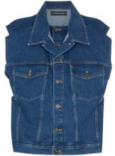 - Y / Project - Giacca senza maniche - women - cotone - S, XXS - di colore blu