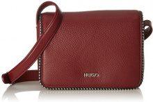 HUGO Mayfair Crossb. Stud - Borse a spalla Donna, Rosso (Dark Red), 6.5x14.5x20 cm (B x H T)