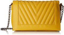 PIECES Pcflorence Cross Body - Borse a tracolla Donna, Giallo (Nugget Gold), 8x14x24 cm (B x H T)