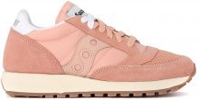 Sneaker Saucony Jazz Vintage in suede tessuto e pelle pesca