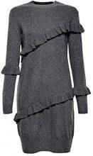 ESPRIT 107ee1e019, Vestito Donna, Grigio (Gunmetal 5 019), X-Large