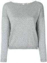 - Blanca - Maglione con girocollo - women - fibra sintetica - 44 - di colore grigio