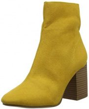 New Look 5889294, Scarpe col Tacco Punta Chiusa Donna, (Dark Yellow 87), 41 EU