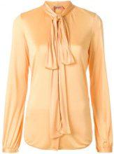 - Nº21 - Blusa con fiocco - women - acetato/fibra sintetica - 48, 42, 44 - di colore giallo