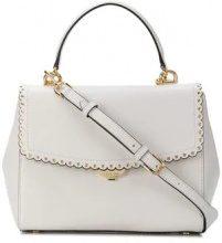 - Michael Michael Kors - Ava satchel - women - pelle di vitello - Taglia Unica - di colore bianco