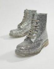 Global - Stivali da pioggia con glitter