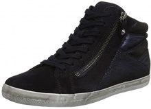 Gabor Shoes Comfort Basic, Scarpe Stringate Derby Donna, Blu (Pazifik K. Micro), 38 EU