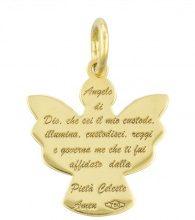 Ciondolo angelo in oro per Unisex