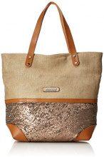 Bulaggi Joana Shopper - Borse Tote Donna, Braun (Sand), 17x34x30 cm (B x H T)