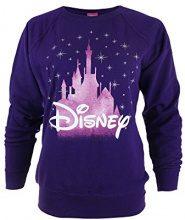 Disney Castle, Felpa Donna, Viola (Purple), 44 (Taglia produttore: XX-Large)