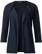 Cecil 252656, Cardigan Donna, Blu (Deep Blue 10128), X-Small